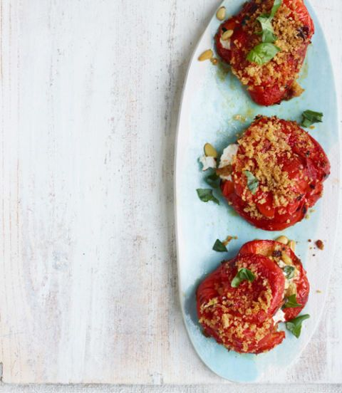 "<p>""Sheepnose Pimento peppers have a deep richness — great for roasting."" - <i>Frank Stitt, executive chef-owner of Highlands Bar and Grill in Birmingham.</i></p><p><b>Recipe:</b> <a href=""/recipefinder/roasted-peppers-stuffed-goat-cheese-recipe-clv0412""><b>Roasted Peppers Stuffed with Goat Cheese</b></a></p>"