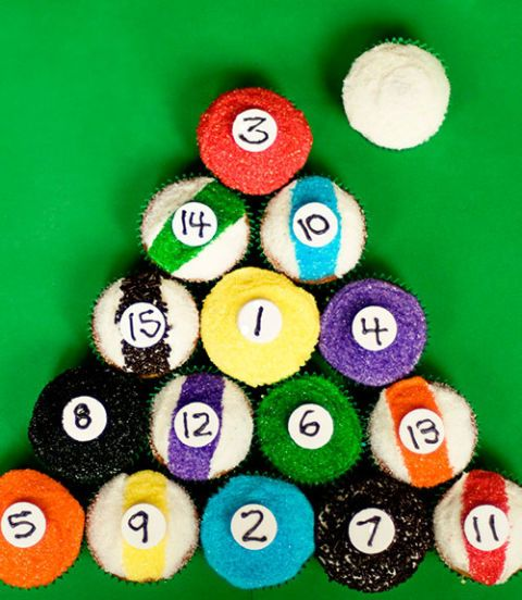 "<div class=""imageContent""> <p class=""FreeForm"">Colored sprinkles and Necco wafer numbers make these pool-table staples surprisingly easy to decorate.</p> <p class=""FreeForm"">Get the recipe at <a href=""http://www.withsprinklesontop.net/?p=165"" target=""_blank"">With Sprinkles On Top</a>.</p> </div>"
