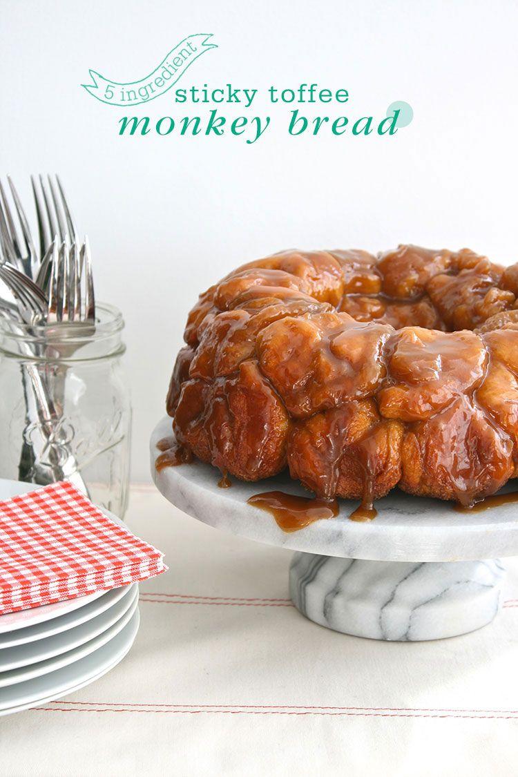 sticky toffee monkey bread