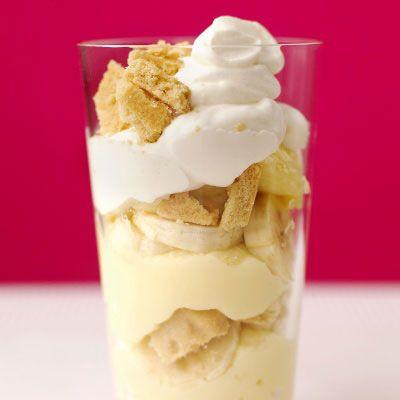 banana pudding parfaits