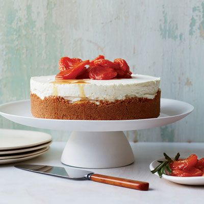 cheesecake amaretti crust