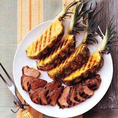 glazed pork tenderloin with grilled pork tenderloin