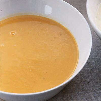 sweet corn puree soup