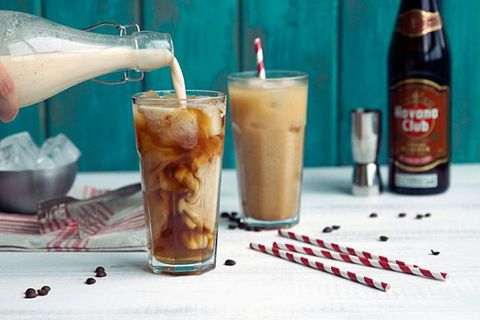 iced coffee rum kicker