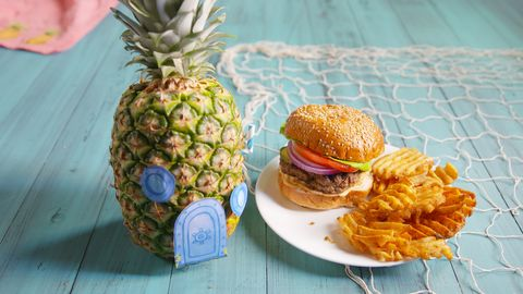 How to Make a Spongebob-Inspired Krabby Patty - What's in a
