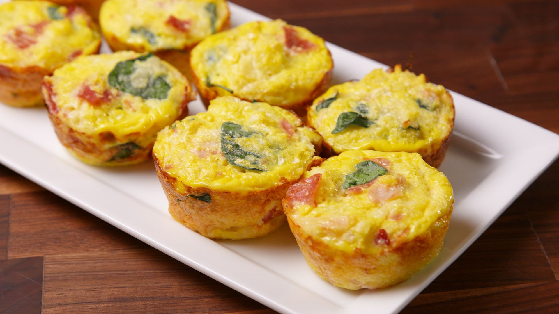 Baking Breakfast Cauliflower Muffins Video Breakfast Cauliflower Muffins Recipe How To Video