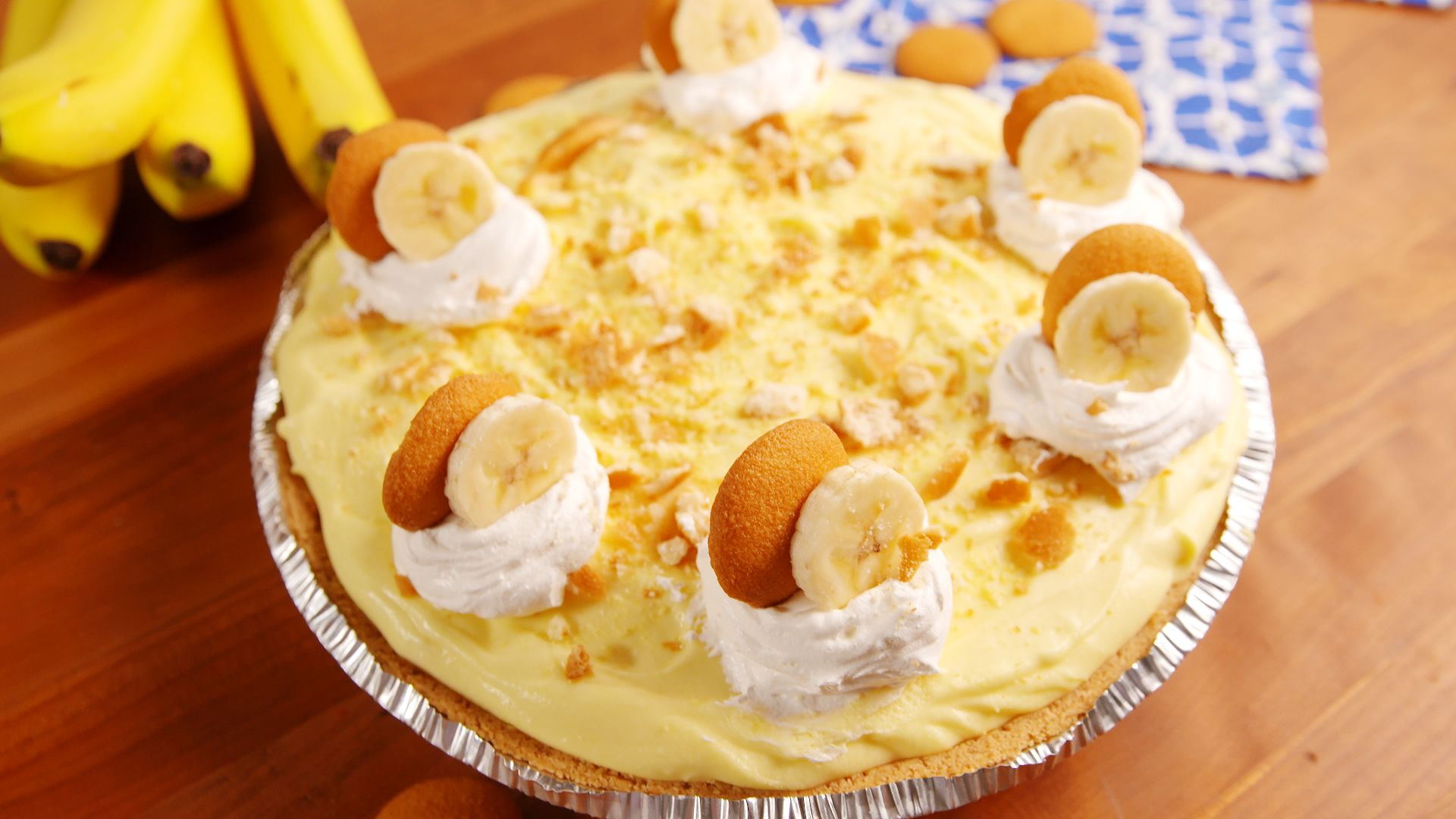 How you make a banana pudding recipe