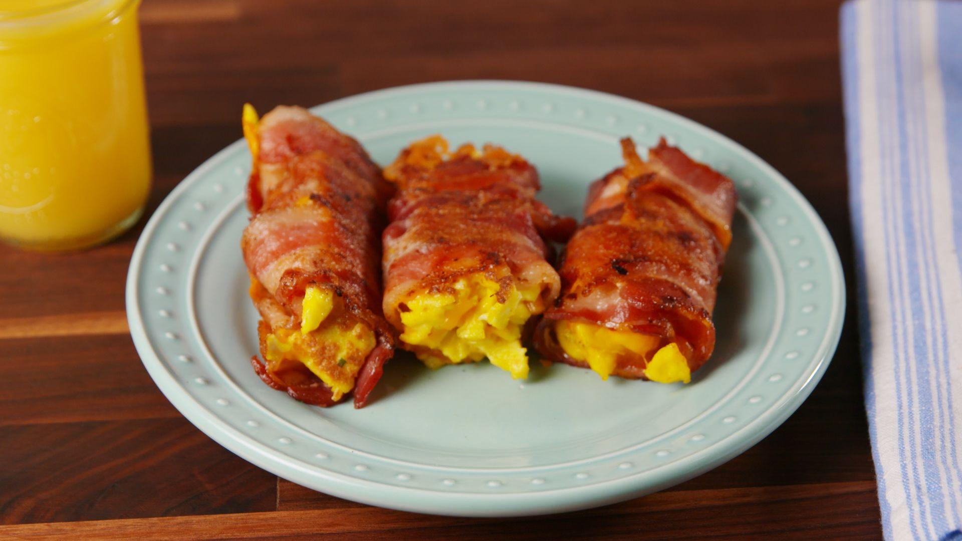 Best Bacon Egg And Cheese Roll Ups Recipe Best Bacon Egg And