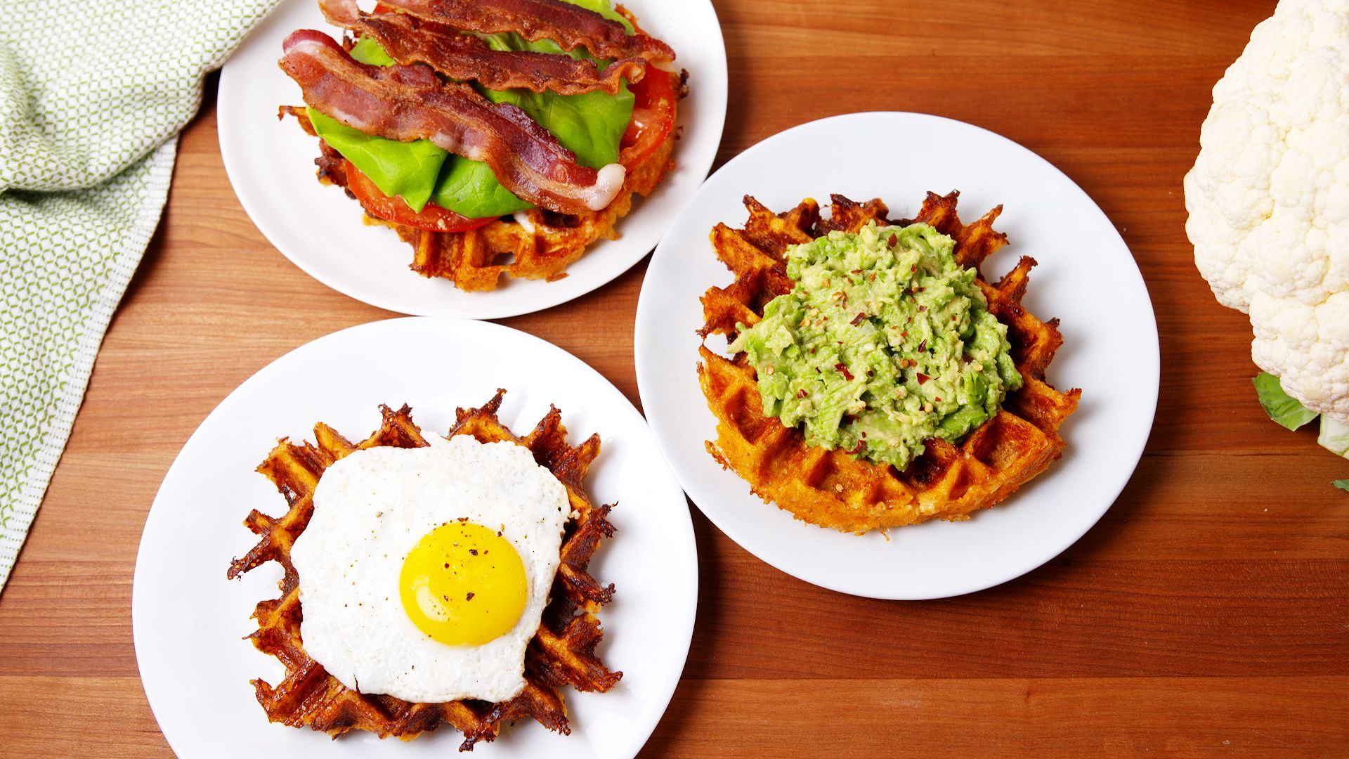 Cauliflower Waffles Are Our New Low Carb Obsession