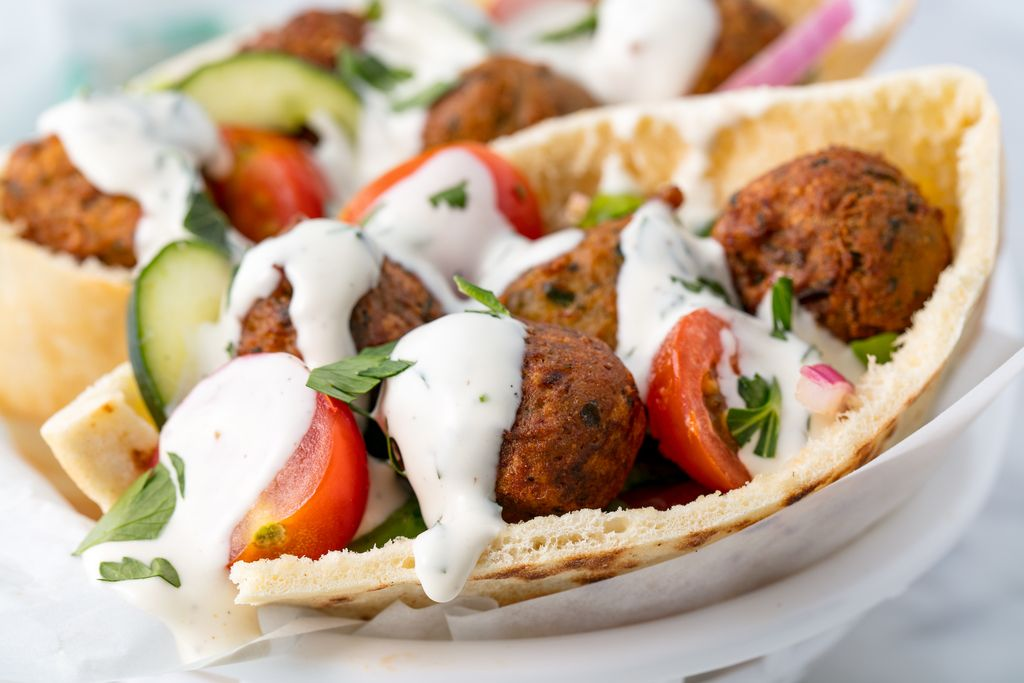 Easy Homemade Falafel Recipe How To Make Best Falafel