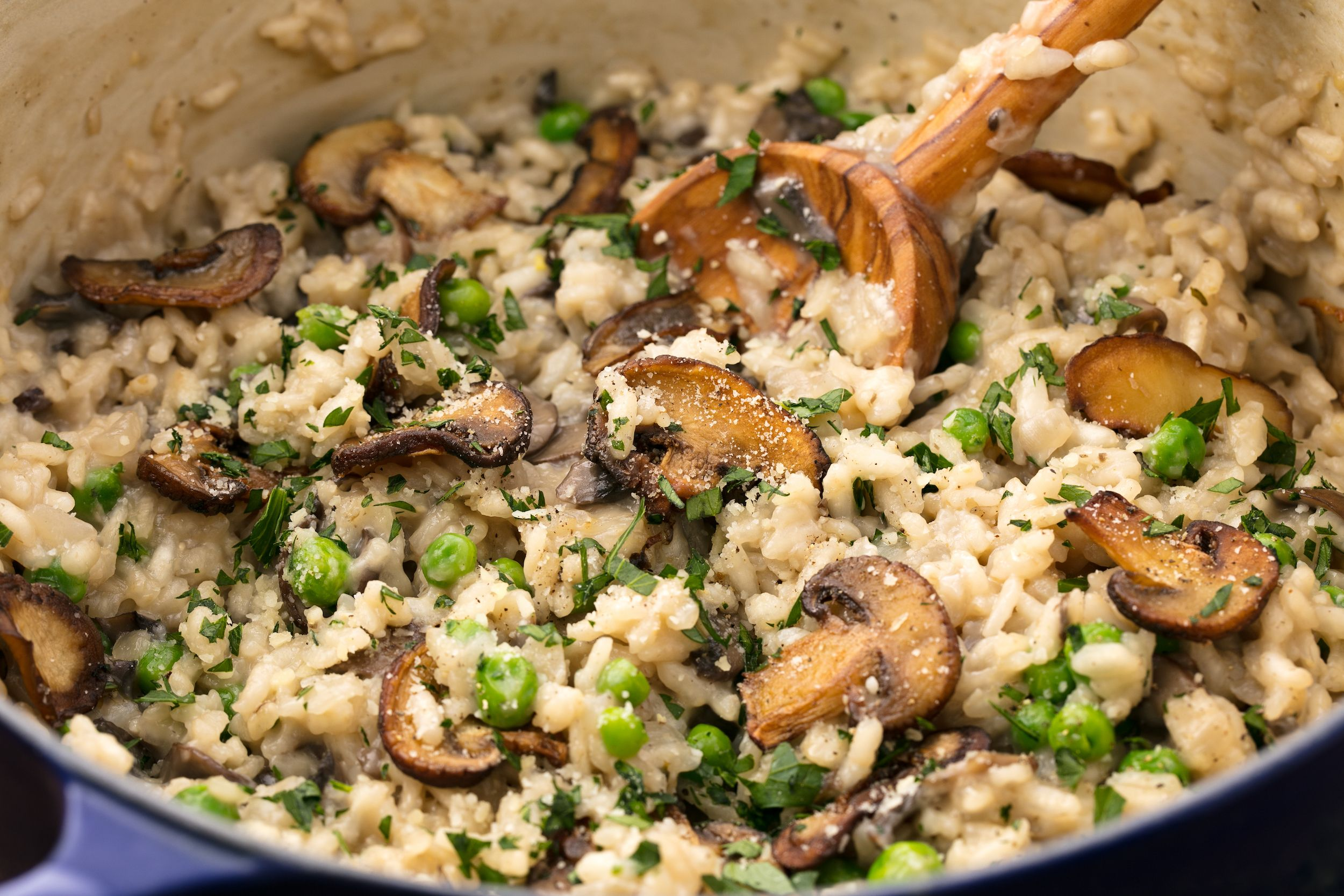 Easy Mushroom Risotto Recipe How To Make Creamy Mushroom Risotto