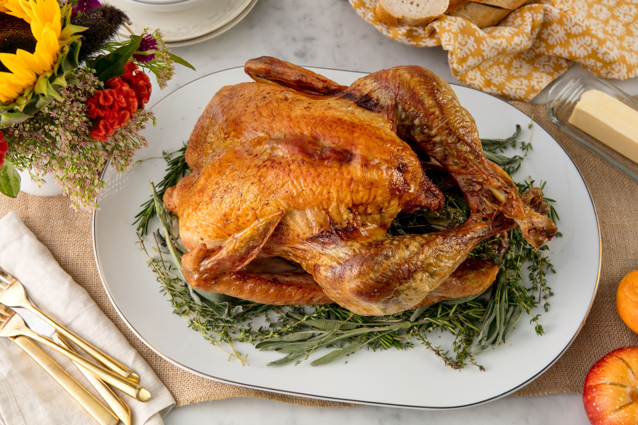 Best Roast Turkey Recipe How To Cook A Perfect Turkey In The Oven