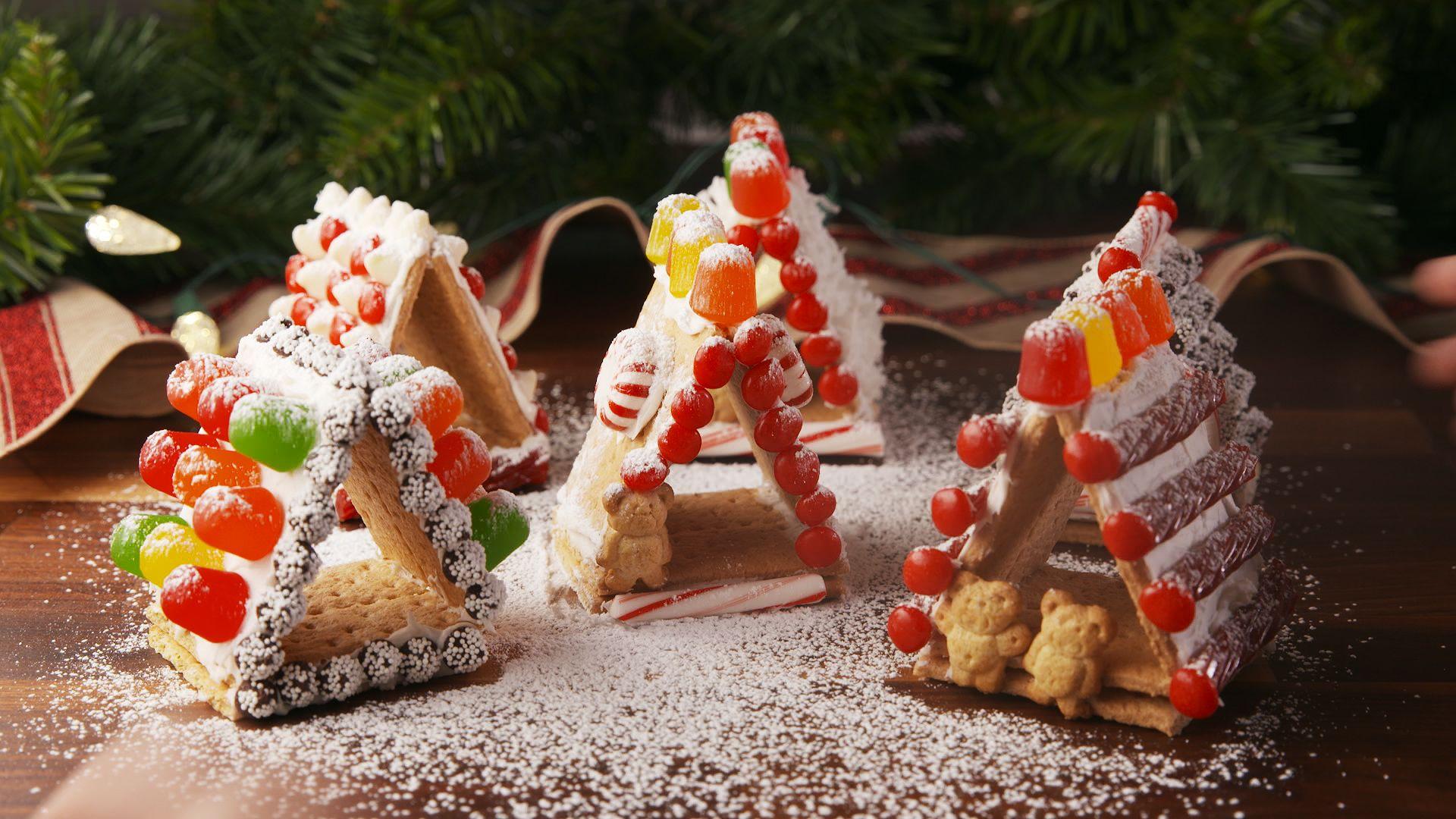 Best Mini Gingerbread House Recipe How To Make Mini Gingerbread
