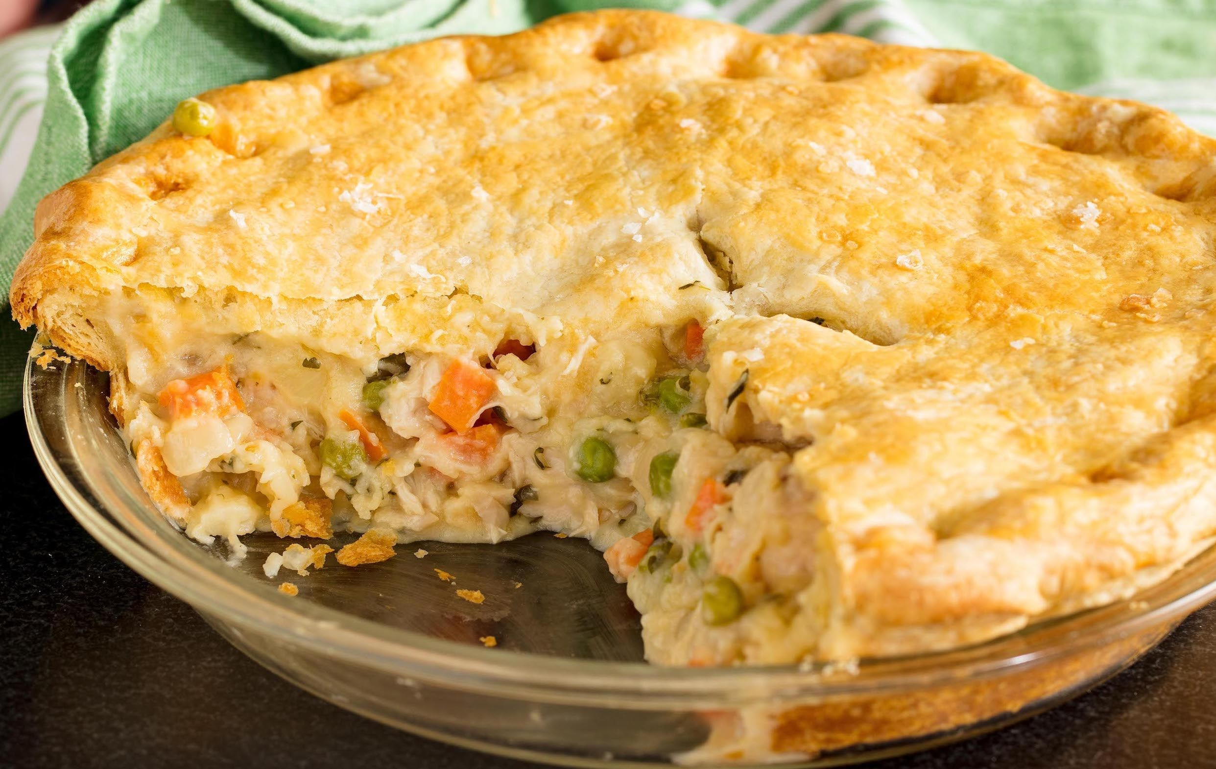 Easy Homemade Chicken Pot Pie Recipe How To Best Make Chicken Pot Pie