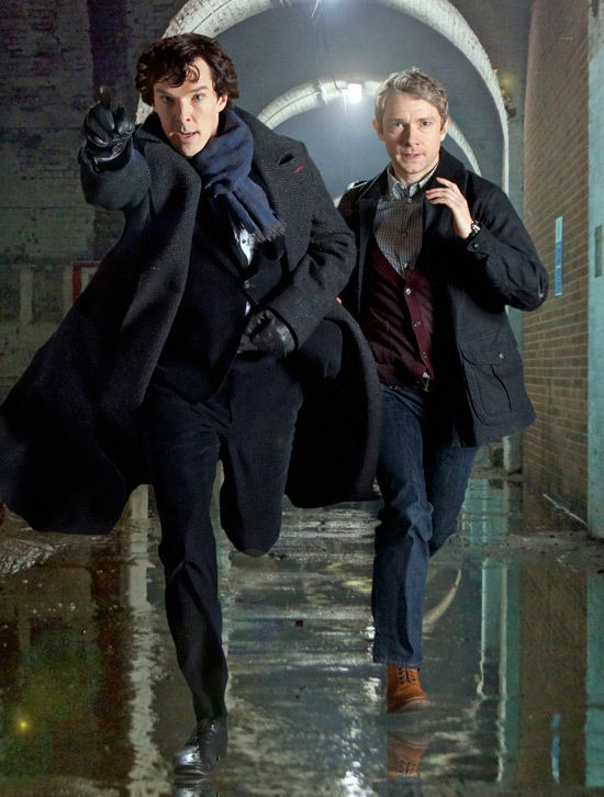 Sherlock's Martin Freeman offers update on possible show return with Benedict Cumberbatch