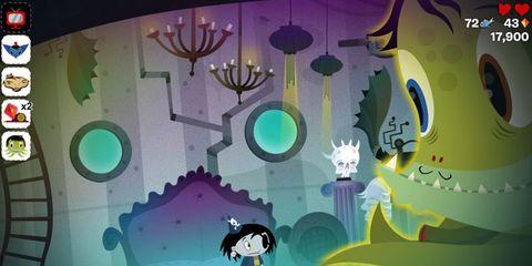 Green, Animation, Teal, Aqua, Turquoise, Graphic design, Graphics, Kitchen utensil, Animated cartoon, Science,