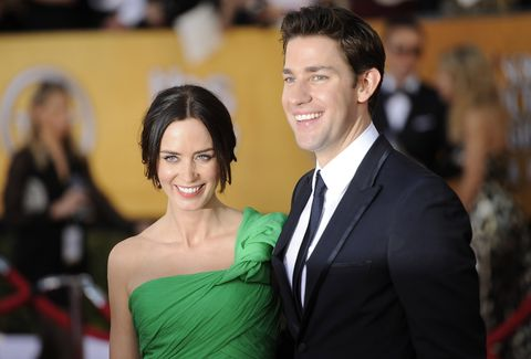 John Krasinski Emily Blunt Wedding.Krasinski Office Made My Marriage
