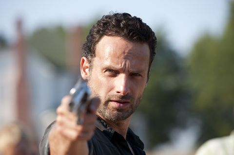 Walking Dead' Andrew Lincoln interview