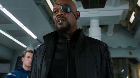 Nick Fury in Avengers trailer