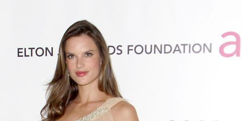 540ea932d363 Alessandra Ambrosio criticised by PETA for dyeing dog fur