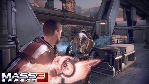 PSN Update: 'Mass Effect 3' Earth DLC