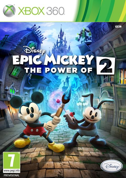 Epic Mickey 2' supports PS Move