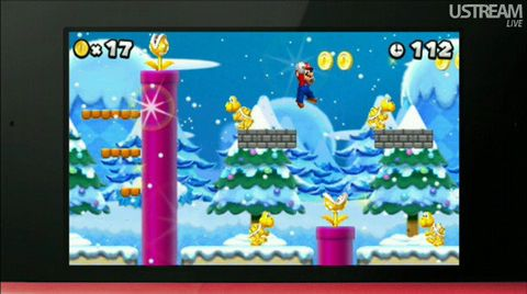 New Super Mario Bros 2' preview