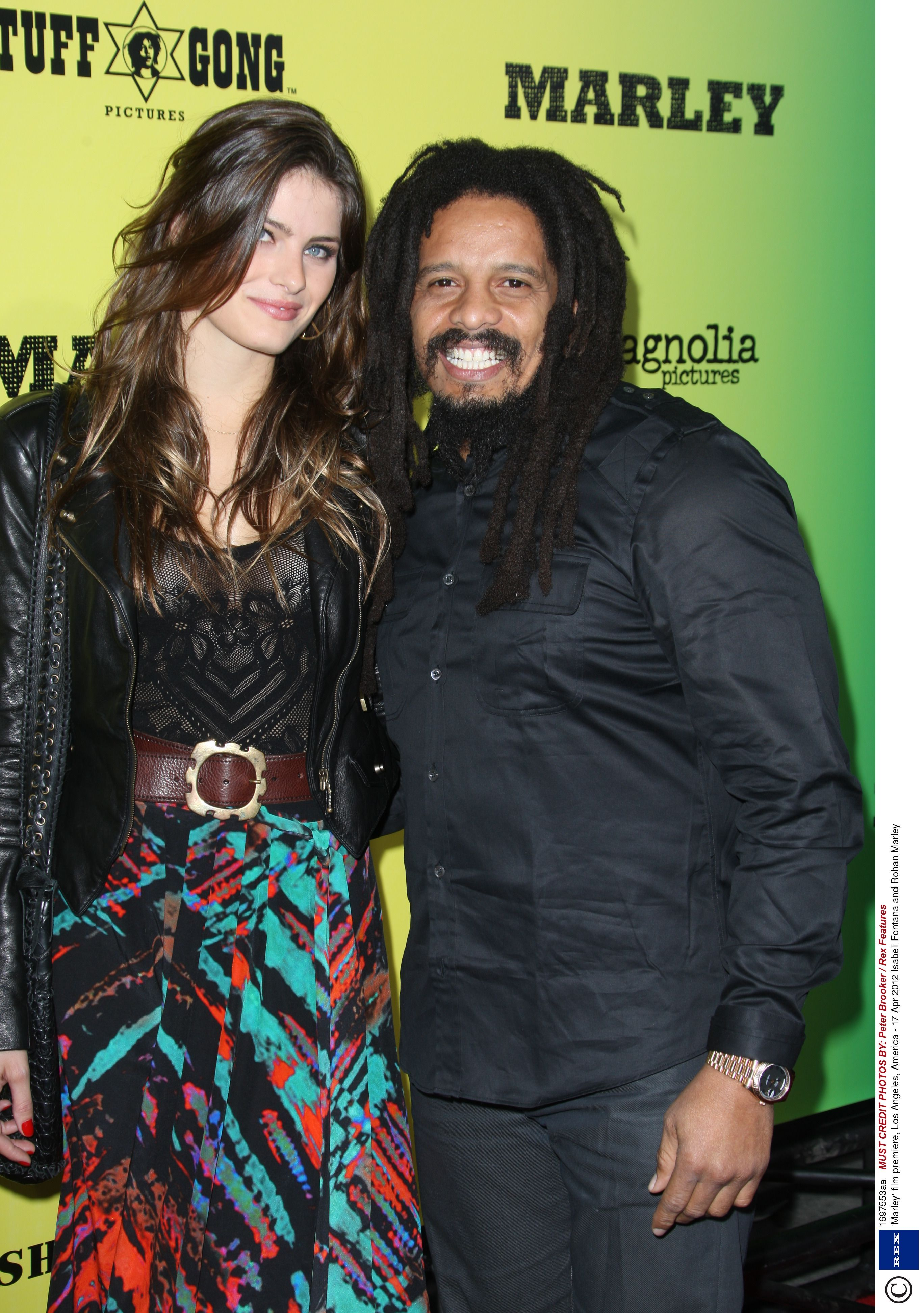 9bfe2e5925c6c Rohan Marley engaged to supermodel girlfriend Isabeli Fontana