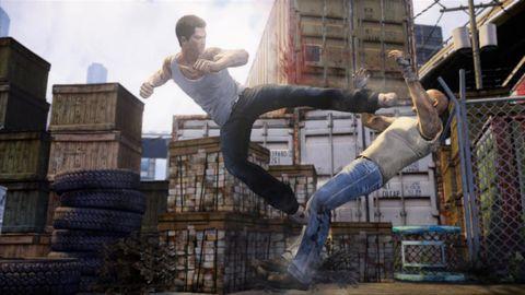 Leg, Human body, Jeans, Denim, Street stunts, Freestyle walking, Active pants, Hip, Boot,