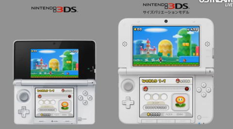 3DS XL announced by Nintendo