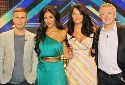 X Factor': First picture of new judges