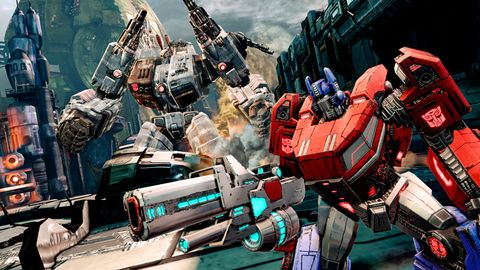 fall cybertron of transformers games download
