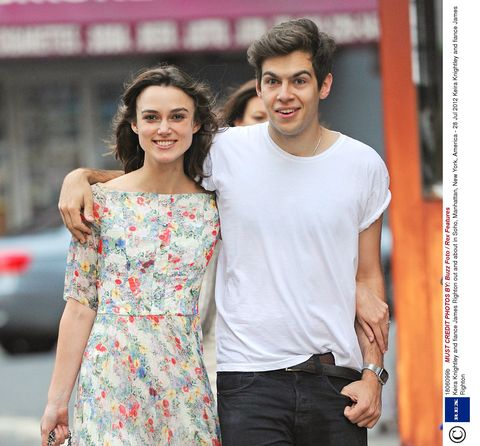 James righton | Keira Knightley is pregnant with her second