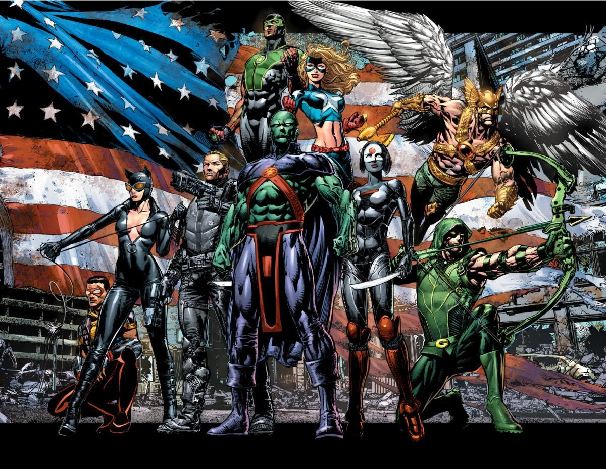 Justice League Of America #1 2013 DC Comics Wyoming