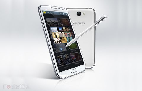 Galaxy Note 2 screen lock flaw found