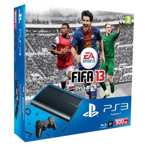 FIFA 13 super slim PS3 bundle announced
