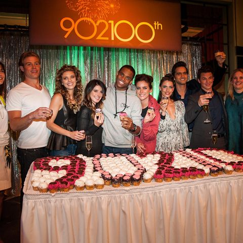 All episodes of 90210 are now streaming on All4