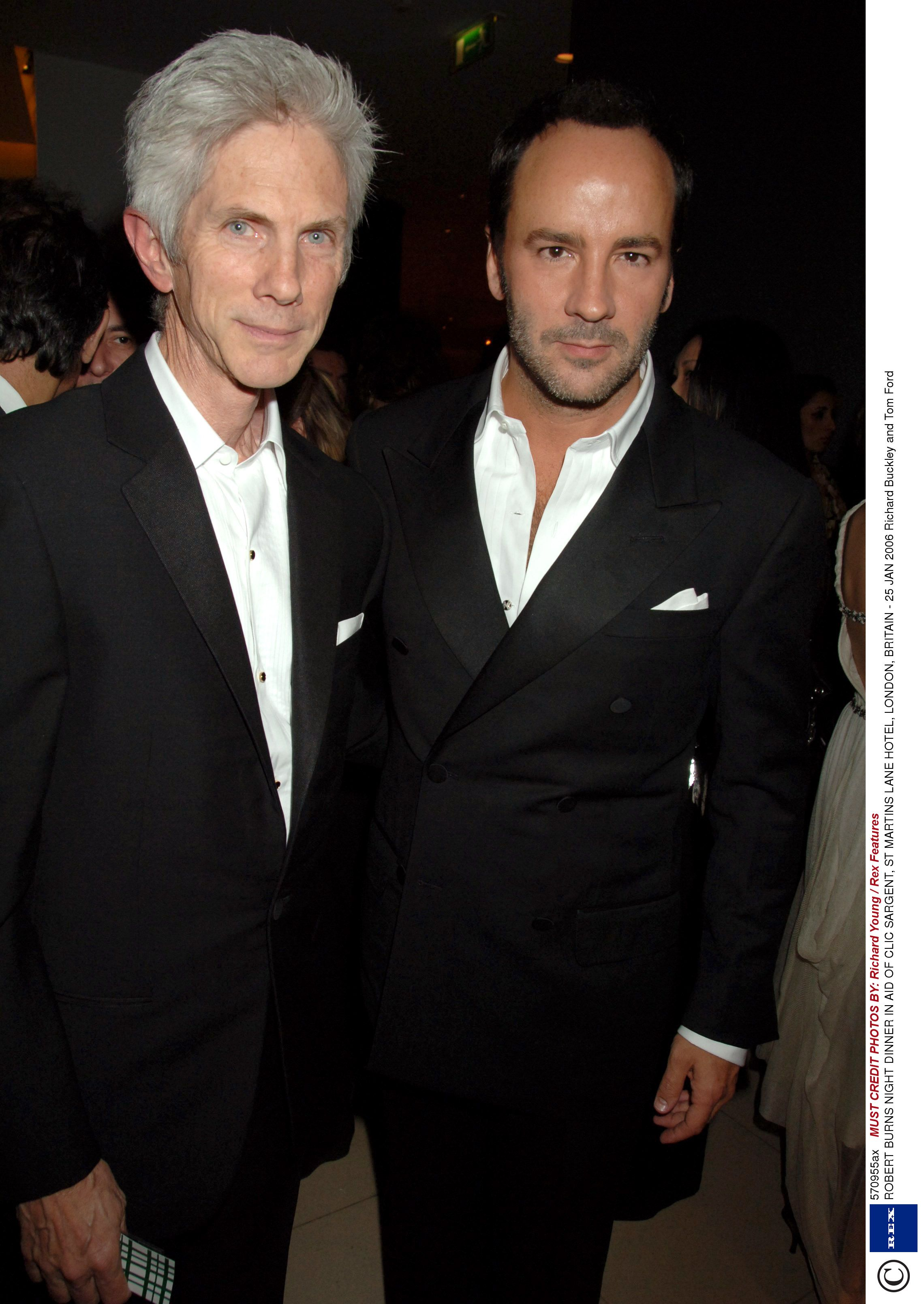 d204365f4083 Tom Ford marries longterm partner Richard Buckley