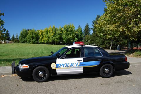 Vehicle, Police, Land vehicle, Infrastructure, Emergency vehicle, Police car, Car, Law enforcement, Full-size car, Emergency service,