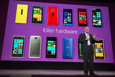 Microsoft launches Windows Phone 8