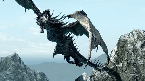 Skyrim' update adds harder difficulty