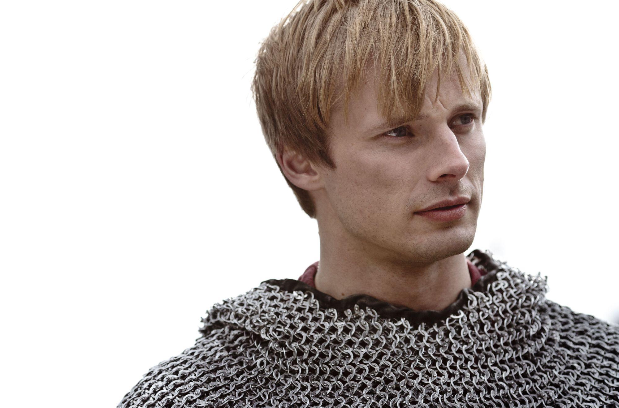 Merlin' Bradley James final series Q&A