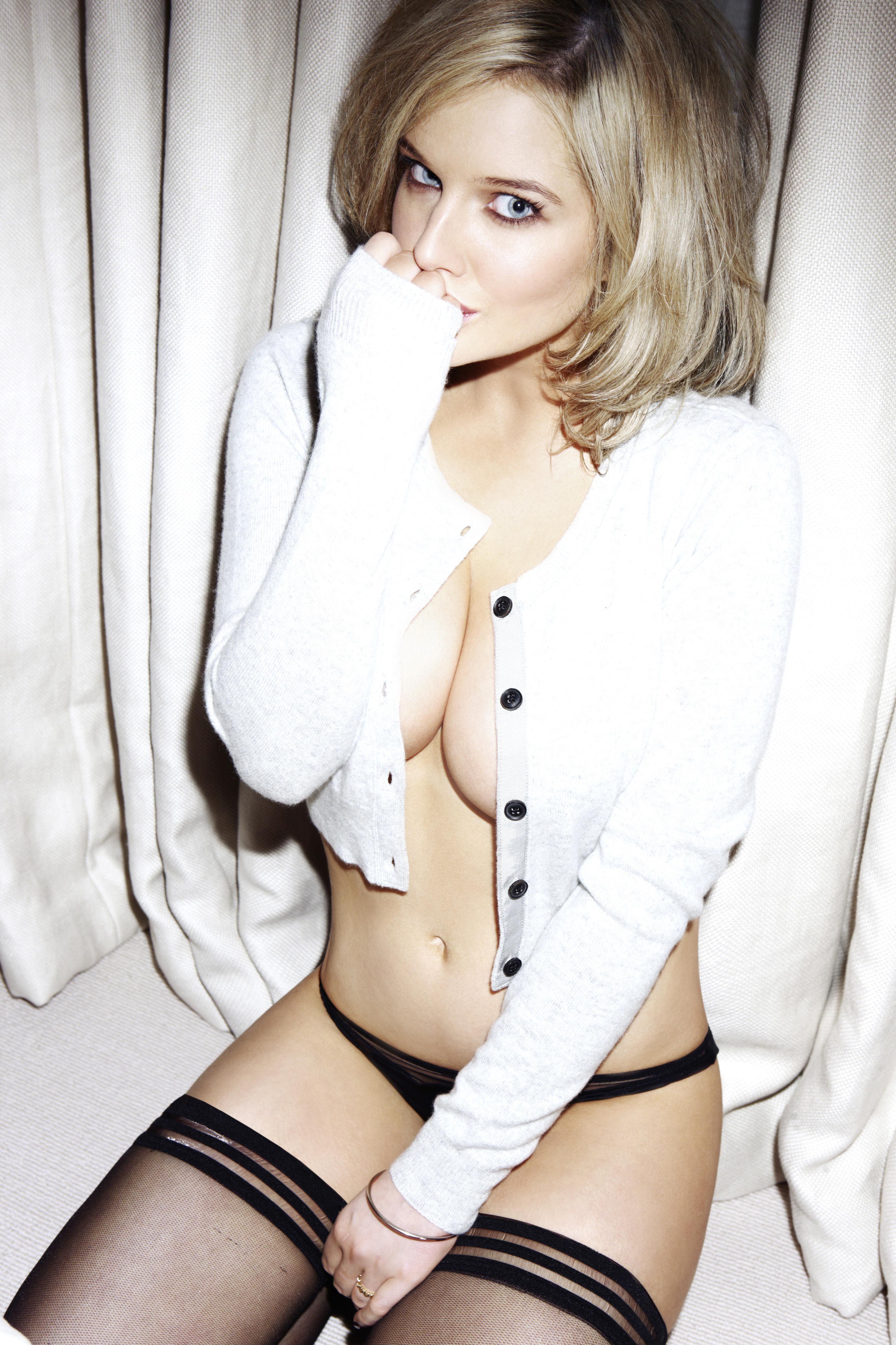 Helen Flanagan Strips Off For Fhm Calendar Im Not A Wag Picture