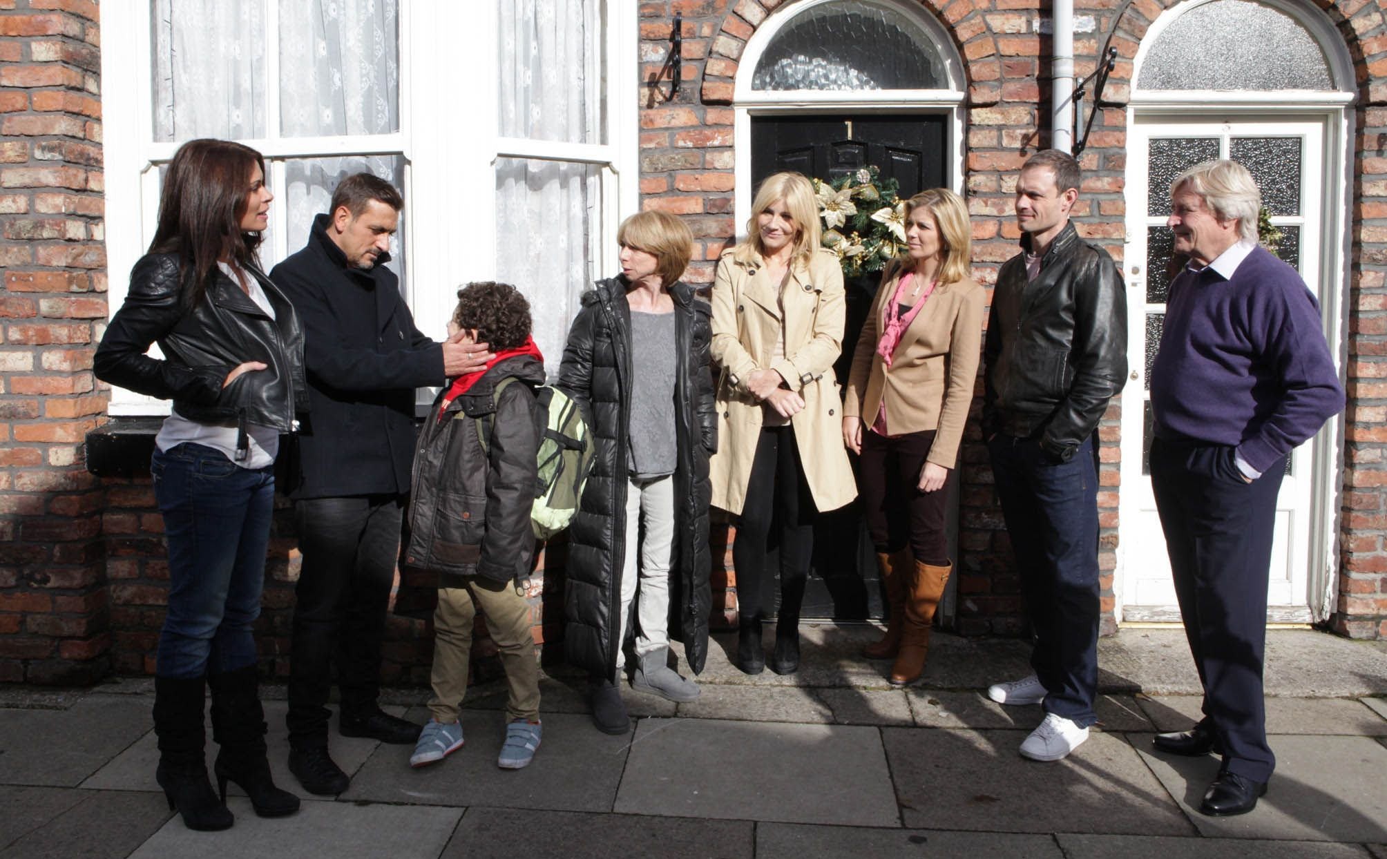 Peter and Carla return to Weatherfield