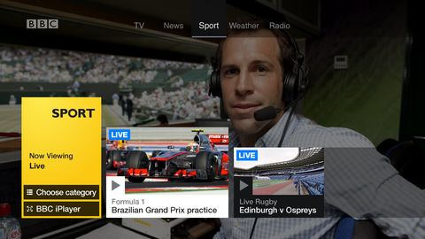 BBC revamps TV Red Button
