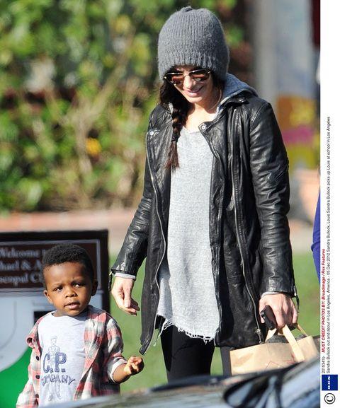Sandra Bullock: 'My son makes life sweet'