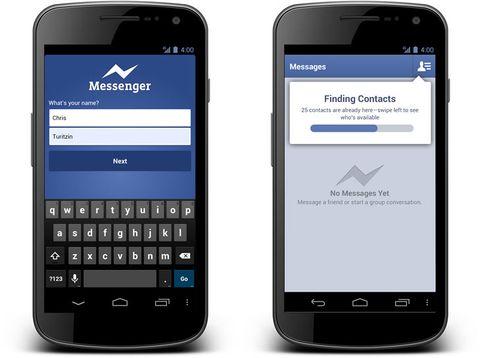 Facebook Messenger calls free on iPhone