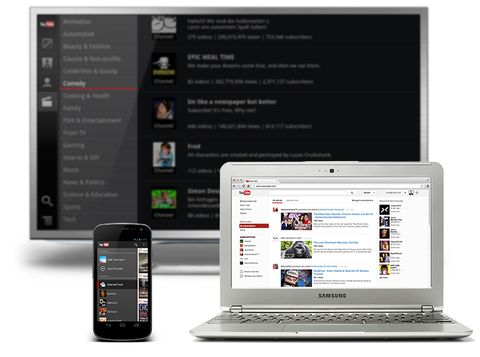 YouTube gets major redesign