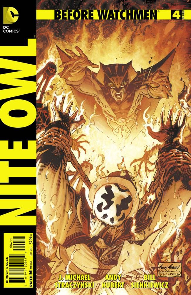 Before Watchmen Nite Owl 4 Review