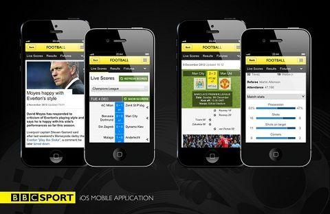 BBC Sport iPhone app goes international